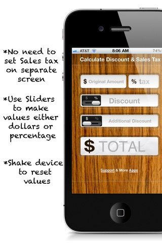 cancel Calculate Discount & Sales Tax FREE subscription image 2
