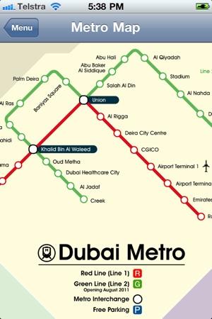 Dubai City Metro im App Store