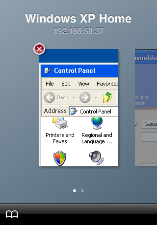 Screenshot of iRdesktop