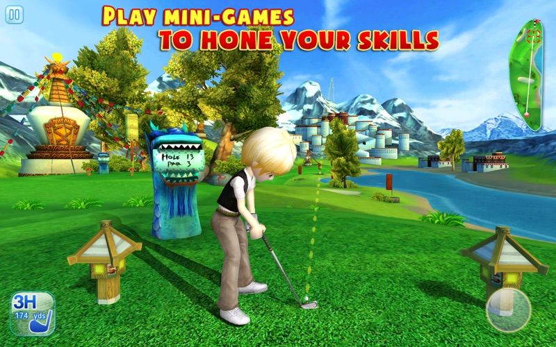 Lets Golf 3 Screenshot