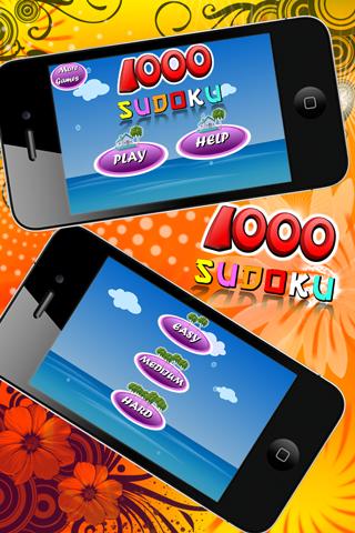 1000 Sudoku для iPhone скачать бесплатно, отзывы, видео обзор