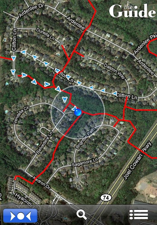 The Guide's Peachtree City Cart Paths