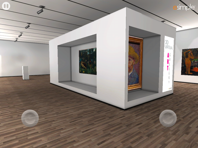 ‎3D Virtual Art Gallery Screenshot