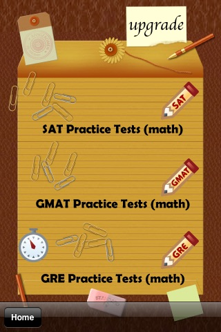 SAT GMAT GRE Practice (math) screenshot-3