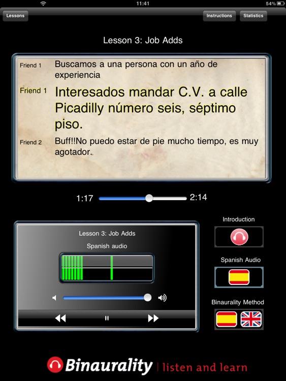 Listen & Learn spanish