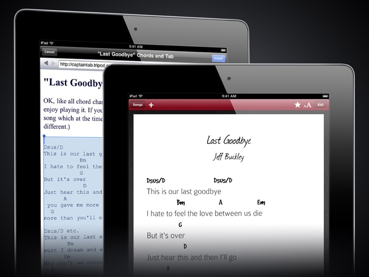 Chords + Lyrics screenshot-3