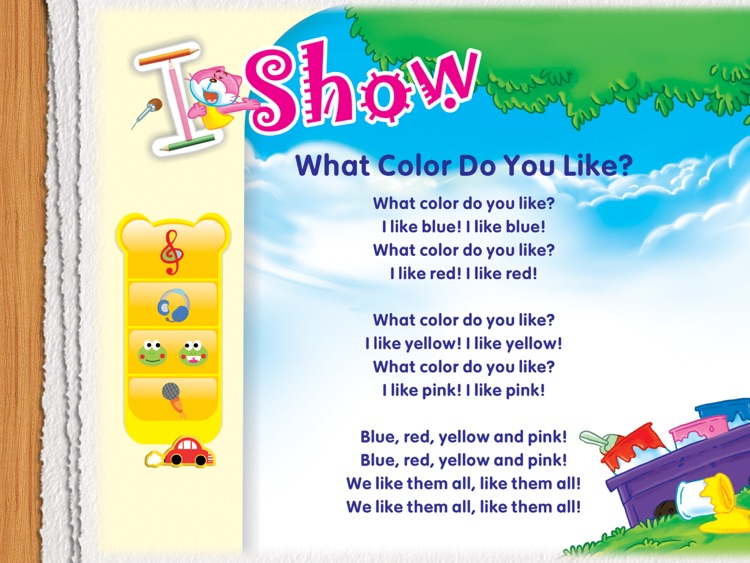 Magic Teddy English for Kids - The Colorful Tree screenshot-3