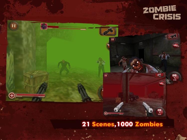 Zombie Crisis 3D HD screenshot-4