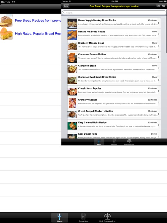 Bread Recipes for iPad