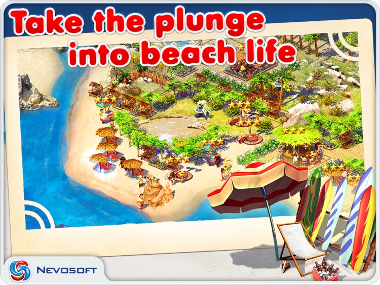 Paradise Beach: resorts tycoon sim strategy screenshot-0