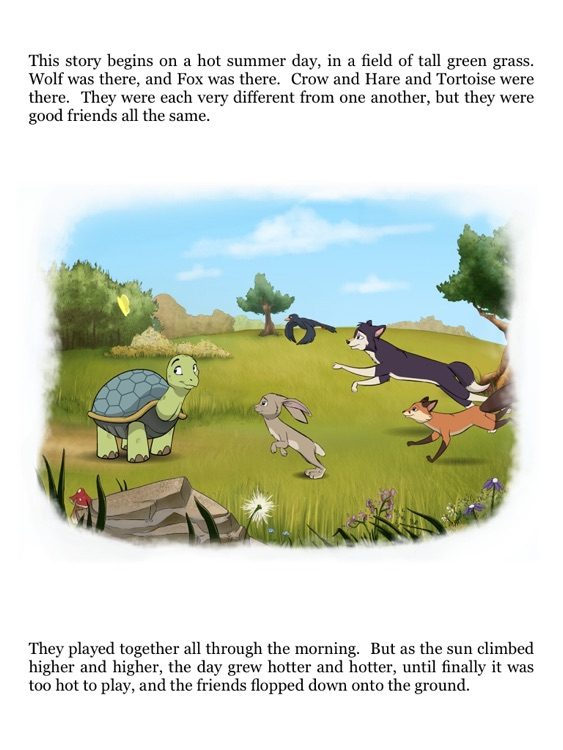 Tortoise and Hare: an Animated Aesop Children's Story Book