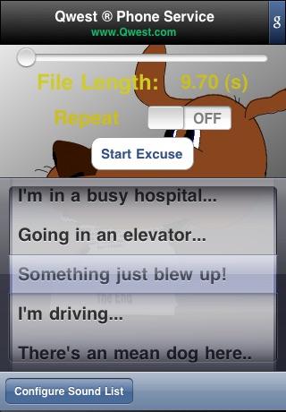 Fake-An-Excuse: Hangup Now! *FREE*