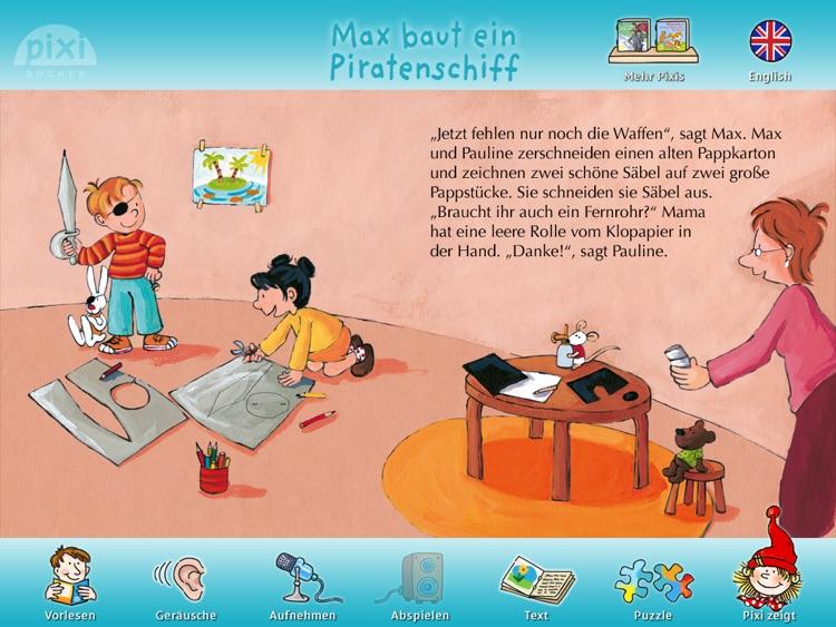 """Pixi Buch """"Max baut ein Piratenschiff"""" screenshot-4"""