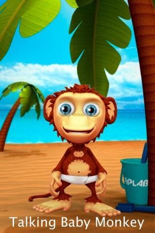 Talking Baby Monkey