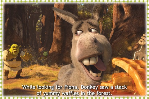 Shrek Forever After- Kids' Book HD screenshot-4