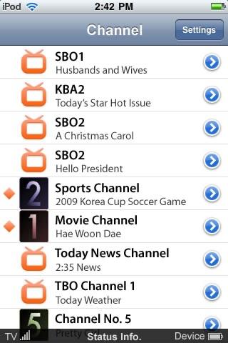 Tivit WiFi DVB-H