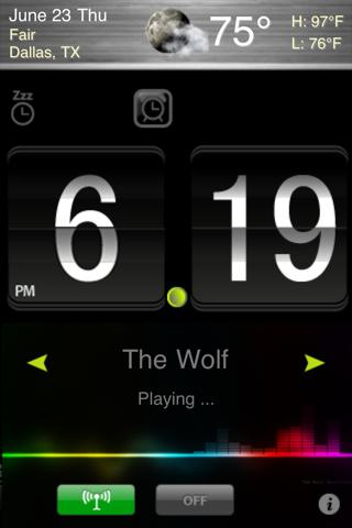 Alarm Clock + Radio screenshot two