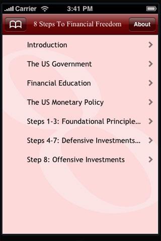 8 Steps To Financial Freedom screenshot 3