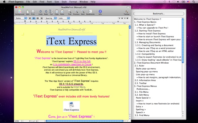 iText Express on the Mac App Store