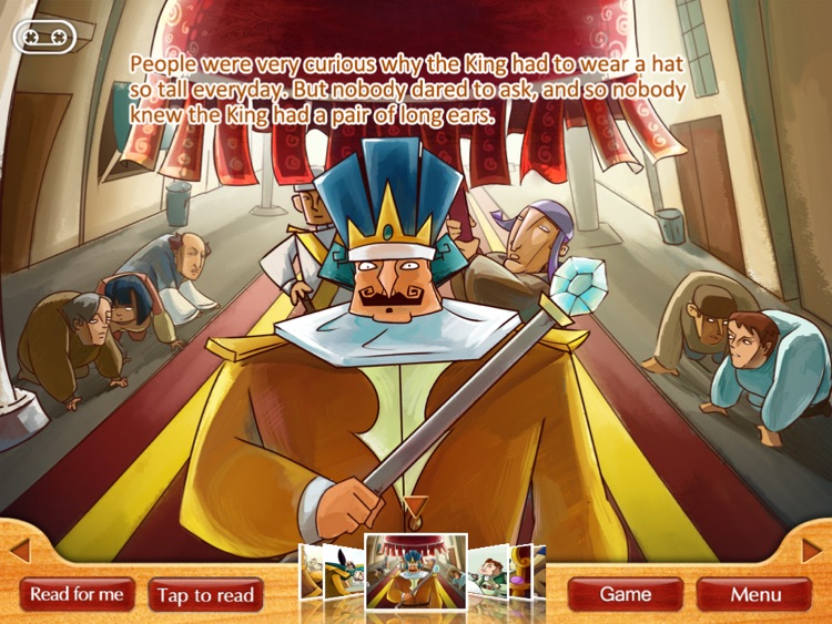 Finger Books-The King With Donkey's Ears HD screenshot-3