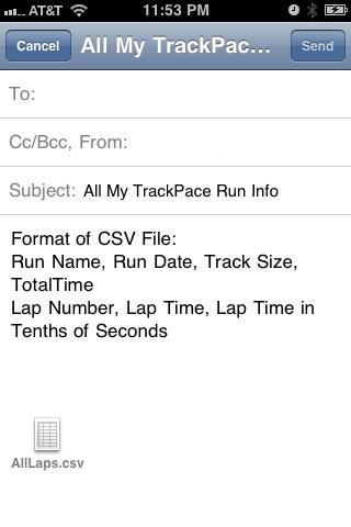 TrackPace screenshot-4