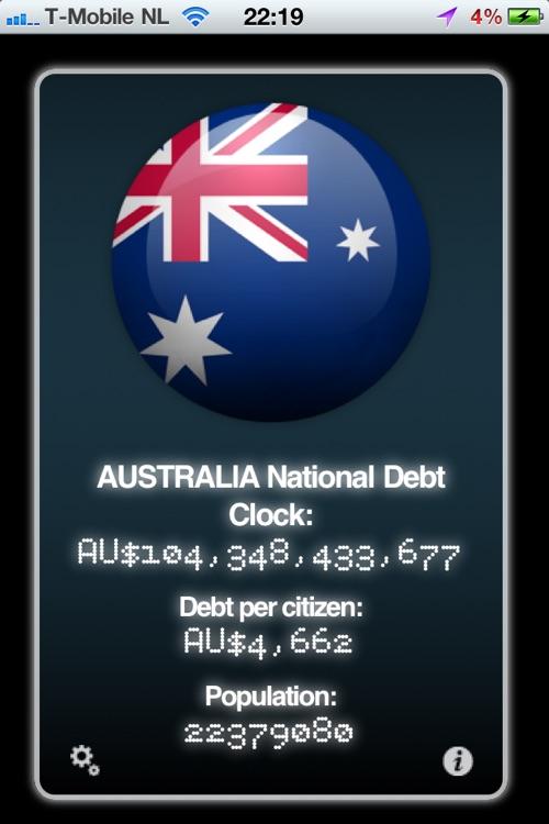 Real Time World Debt Clock screenshot-3