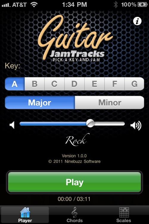 Guitar Jam Tracks: Rock
