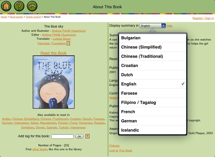 ICDL - Free Books for Children - International Children's Digital Library