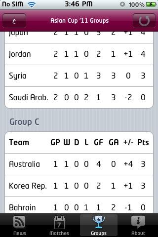 Asian Cup '11 screenshot-3