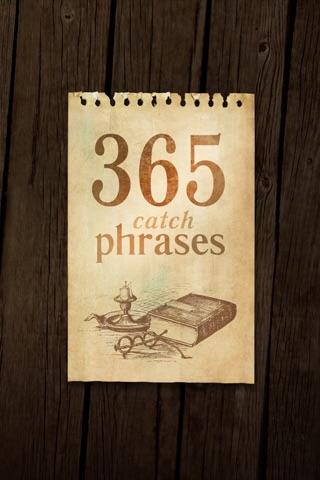 365 catch phrases