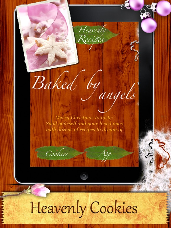 Christmas Cookies - Holiday Cookies Baked by Angels screenshot-0