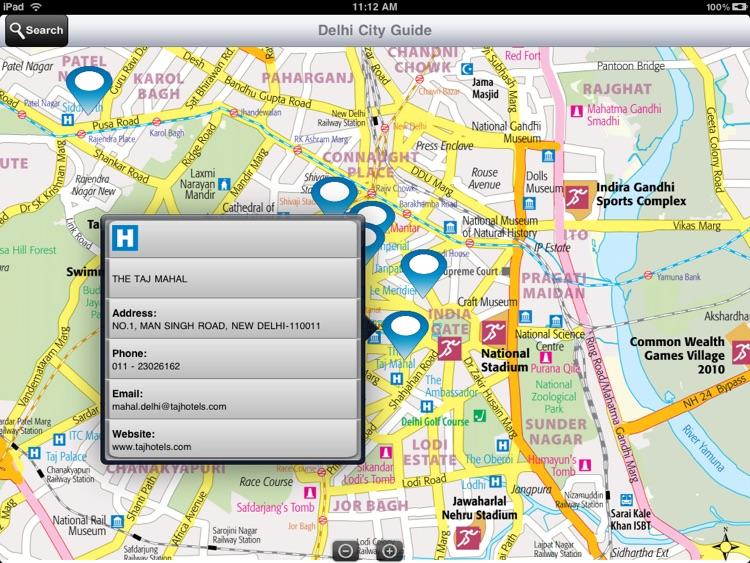Delhi City Guide screenshot-4
