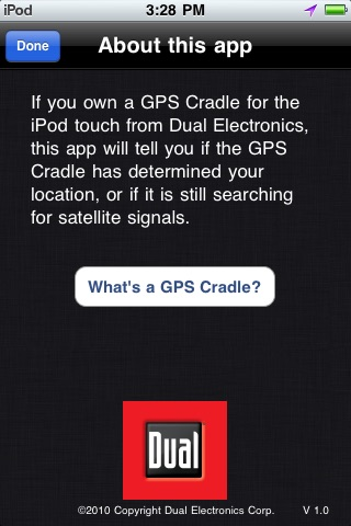 GPS Cradle Status Tool screenshot-3