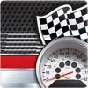 速度計のダッシュボードのGPS