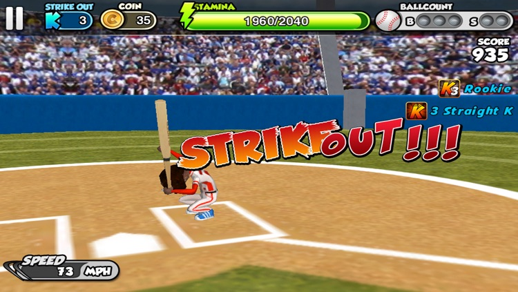 Flick baseball screenshot-1