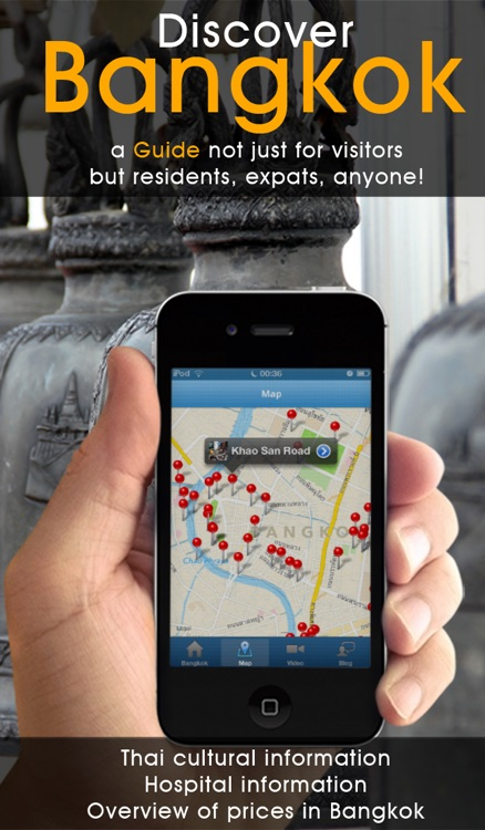 Bangkok Travel Guide - 101 Things to Do in Bangkok - Offline Map Tour Shopping Culture Food and More of Thailand screenshot-1