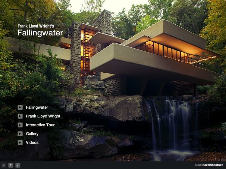 Fallingwater - Frank Lloyd Wright - HD screenshot-0
