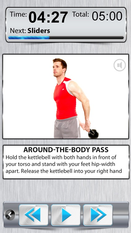 Kettle-Bell Belly Fat Workout PRO - 10 Minute Dumbbell Exercises & Abs Burn-er for Losing Weight