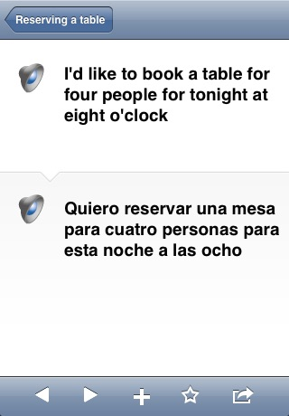 Collins English<->Spanish Phrasebook & Dictionary with Audio screenshot-1