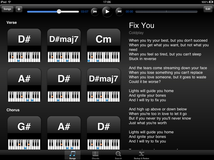 Piano Tabs screenshot-0