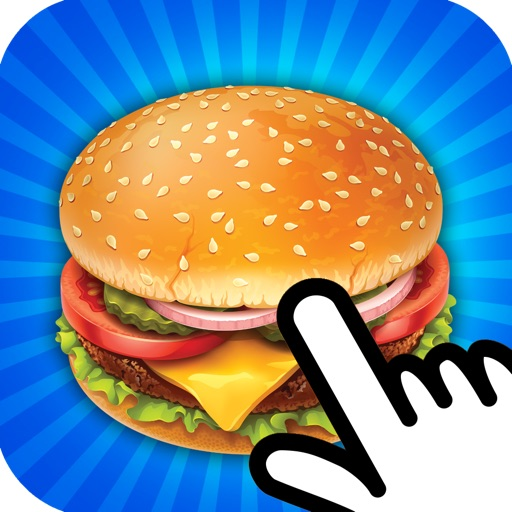 Burger Clicker Madness iOS App