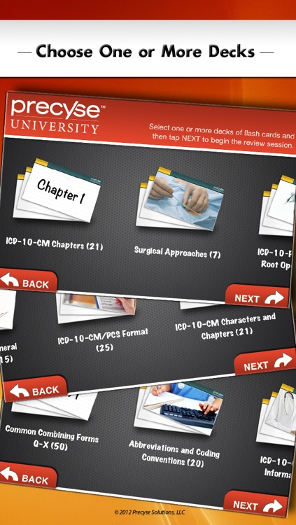 ICD-10 Flash Cards