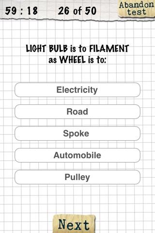 IQ-Test screenshot three