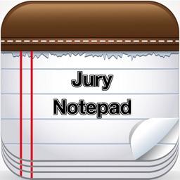 Jury Notepad