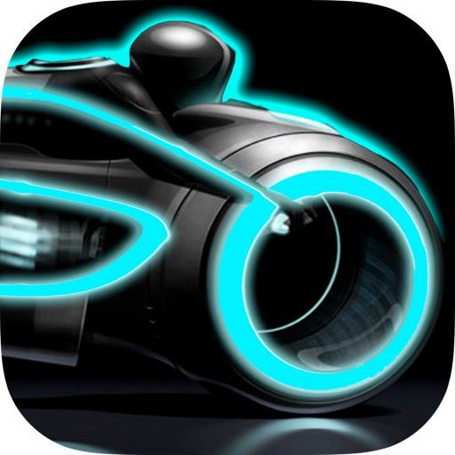 A Neon Race – 3D motorcycle highway lane turbo chase game: multiplayer drive high  track bike racing - Free Version