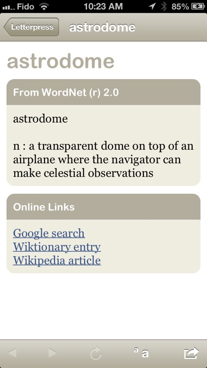 Crossword Dictionary + Letterpress cheat screenshot-3