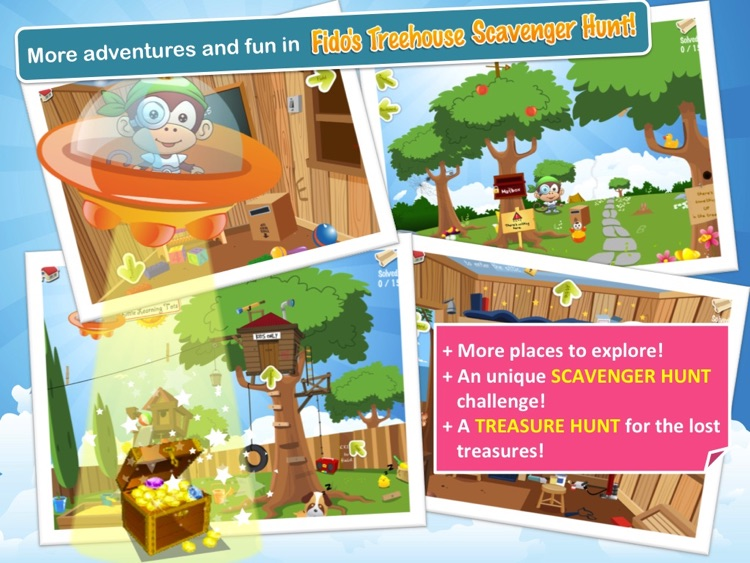Fido's Treehouse Adventure screenshot-3