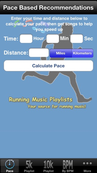 Running Music Playlists Free Screenshot