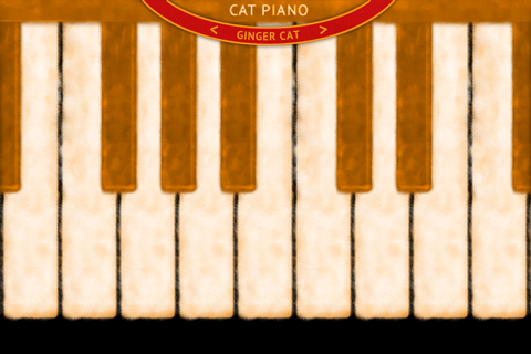 Cat Piano - náhled
