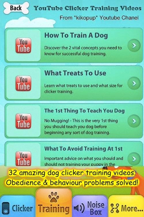 iClicker - Free Dog Training Clicker screenshot-3